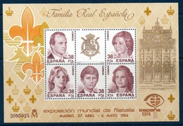 """ESP 1984  Bloc De L'exposition Philatélique Internationale """"Espana 84""""  BL N°YT 33** MNH - Blocs & Feuillets"""