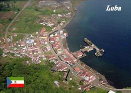 1 AK Äquatorialguinea * Blick Auf Die Stadt Luba Auf Der Insel Bioko - Luftbildaufnahme * - Equatorial Guinea