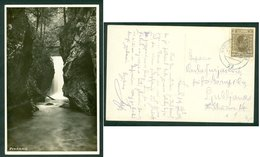 Yugoslavia 1929 Bahnpost Railway Mail Ambulance Post Kamnik - Ljubljana 77 Predaselj Postcard Letter - Covers & Documents