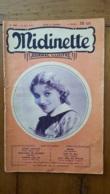 MIDINETTE JOURNAL ILLUSTRE 1932 MLLE YVONNE SCHEFFER PHOTO G.L. MANUEL 33 PAGES - 1900 - 1949