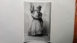 """Foto Cantanti D'Opera L Teatro La Scala Di Milano - Wanda Sciaccaluga E Dino Cavallo In """"Visioni"""" - 1943 - Opera"""