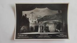1943 - Foto Di Scena Del Teatro La Scala Di Milano - Pinocchio - Quadro I - Opéra
