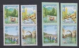 Bosnia/Herzegovina Serbia 2005 50Y Europa  4v  Perf & IMPERF ** Mnh (44494) - Europese Gedachte