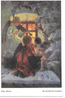 Angels In Front Of Window, Engel, Ange, Angelo, Playing Violin, Violon, Geige, By Riss, Meran - Altri