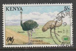 "Kenya 1988 The 200th Anniversary Of Australian Settlement And World Fair ""Expo '88"" 5 Sh Multicoloured SW 449 O Used - Kenya (1963-...)"