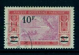 COSTA DE MARFIL / COTE D'IVOIRE ,  YV. 79 CANCELADO , NUEVO VALOR SOBRECARGADO - Costa De Marfil (1892-1944)