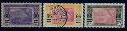 1913 - 17 , COSTA DE MARFIL / COTE D'IVOIRE ,  YV. 59 / 61 , NUEVO VALOR SOBRECARGADO - Costa De Marfil (1892-1944)