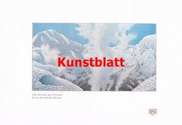 1187 Reschreiter: Anden Cotopaxi Krater Ecuador Farbdruck 1907 !! - Drucke