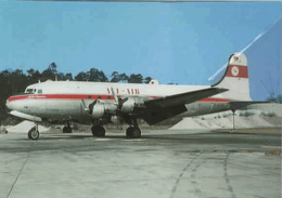 All Air Douglas DC-4 D-ADAB C-54E Airplane Aereo At Frankfurt - 1946-....: Era Moderna