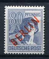 44328) BERLIN # 32 Postfrisch GEPRÜFT Aus 1949, 130.- € - [5] Berlino
