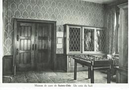SAINTE-ODE-MAISON DE CURE-HALL-FOOTBALL DE TABLE-BABYFOOT - Sainte-Ode