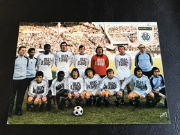 FOOTBALL FRANCAIS 1ere Division Saison 1977-1978 - OLYMPIQUE DE MARSEILLE (O.M) - Soccer