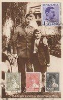 Carte Maximum -  M.S. Regele Carol II Cu Marele Voevod Mihai (Roi Michel 1er) - Roumanie
