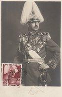 Carte Maximum  -  M.S. Regele Carol II - Roumanie