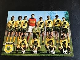 FOOTBALL FRANCAIS 1ere Division Saison 1977-1978 NANTES - Voetbal