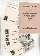 Propaganda Karte, Festpostkarten Mit Umschlag, Statt 8 Nur 7 Karten - Guerre 1939-45