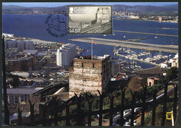 GIBRALTAR (2017). Carte Maximum Card - Moorish Castle - Europa 2017 Castles / Castillos / Château Maure / Schloss - Gibraltar