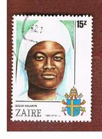 ZAIRE  -  SG 1263 -  1986 SISTER ANNARITE NEUGAPETA BEATIFICATION   - USED ° - Zaire