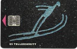 @+ Norvège - Olympic Games Skijump (30 000ex - 01/94) - Ref : N-14B - Noorwegen