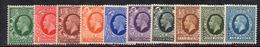 APR2540 - GRAN BRETAGNA 1934 , GV  Unificato Serietta N. 187/196   ***  MNH  (2380A). - 1902-1951 (Re)