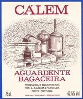 Brandy Label, Portugal - Aguardente Bagaceira CÁLEM / A.A.Cálem & Filho, Porto - Labels