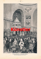 1210 Limmer Erlöserkirche Moskau Russland Druck 1897 !! - Drucke
