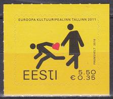 Estland Eesti 2010 Kunst Arts Kultur Culture Kulturhauptstadt Tallinn Städte Stadt Towns, Mi. 672 ** - Estland