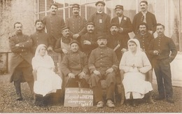 Carte Photo Hopital De Dieppe - Militaria 1914-1918 - Dieppe