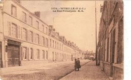 WIMILLE, La Rue Principale, FRANCE - Frankreich