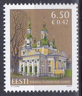 Estland Eesti 2010 Architektur Architecture Bauwerke Buildings Kirchen Churches Religion Pärnu, Mi. 659 ** - Estland