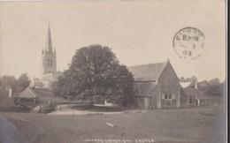 AM51 Oakham Church And Castle - 1903 Oakham Thimble Postmark - Rutland