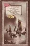 AN45 Birthday Greeting - Sailing Boats - Birthday