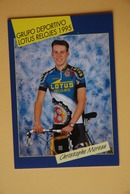 CYCLISME: CYCLISTE : CHRISTOPHE MOREAU - Ciclismo