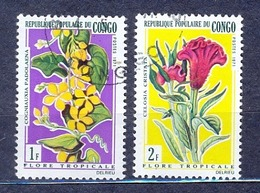 Z-CG  1971  Mi 272,73..Flowers - Oblitérés