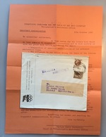OLYMPIC GAMES 1960 ROMA, Italy COMITATO ORGANIZZATORI  (lettre Cover Brief  Jeux Olympiques Olympische Spiele - 1946-60: Storia Postale