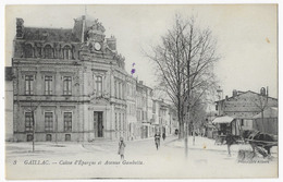 Gaillac Caisse D' Epargne Et Avenue Gambetta - Gaillac