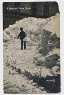 AJ23 A Montreal Snow Scene - Montreal