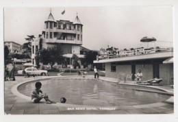 AJ23 San Remo Hotel, Torquay - RPPC, Swimming Pool - Torquay