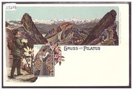 GRUSS VOM PILATUS - LITHO - TB - LU Lucerne