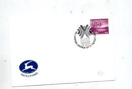 Lettre Cachet Tel Aviv Jeu Hapoel - Israel