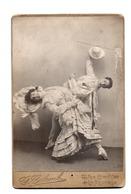 La Rochelle. Couple De Danseurs. Photo  Colomb. - Anciennes (Av. 1900)