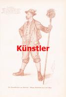 1220 C.W. Allers Bismarckverehrer Österreich Kunstblatt 1894 !! - Drucke