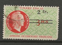 AOF FISCAL OBL - Oblitérés