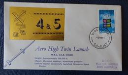 1971 - COVER - WOOMERA, SA AUSTRALIA - AERO HIGH TWIN LUNCH - Collezioni