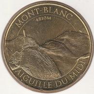 MONNAIE DE PARIS 74 CHAMONIX-MONT-BLANC  4810M - Aiguille Du Midi 3842M  2016 - 2016