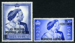 British Morocco. SG #176-177. Mint. ** - Morocco Agencies / Tangier (...-1958)