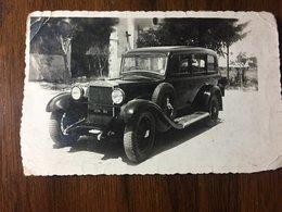 Cartolina Fotografica Automobile OM, Officine Meccaniche, 1937, Targa Bari - Postkaarten