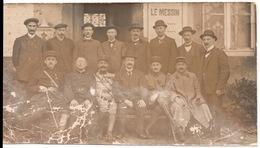 Le Messin C.1918 Metz 1 Rue Des Clercs ? Carte Photo 8x14cm - Metz