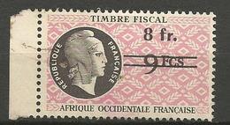 AOF FISCAL OBL / PIQURE D'EGUILLE - Gebruikt