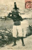 Militaria Militaire - Batterie Alpine Manoeuvre De Force 220 Kilos Chasseur Et Canon - Characters
